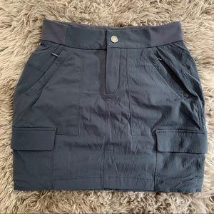 Athleta Shorts - ATHLETA Trekkie Skort, NEW w/o tags, gray, SZ 0